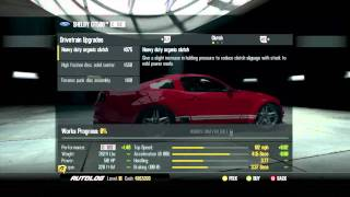 EA NFS SHIFT 2 Autolog Customization Part 1