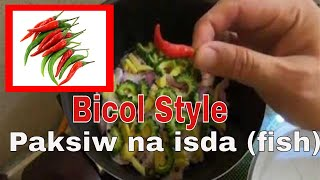How to cook Paksiw na isda I Bicolano Style I Made in Doha