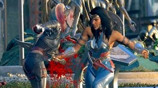 Video Wonder Woman Attempts to Kill Harley Quinn | INJUSTICE 2 download MP3, 3GP, MP4, WEBM, AVI, FLV Agustus 2018