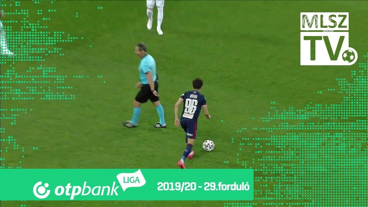 Ristevski Kire gólja a MOL Fehérvár FC – Újpest FC ...