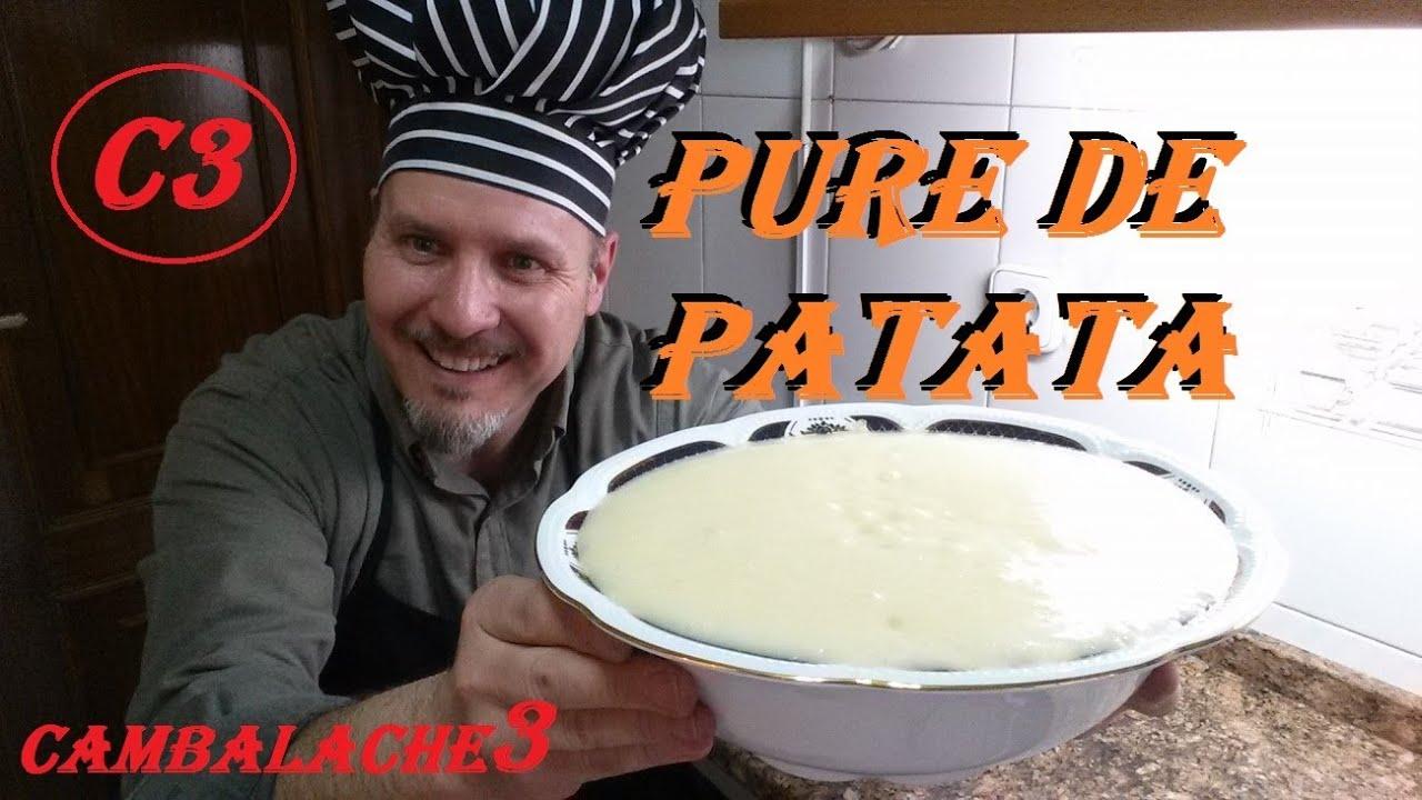 Pure de patata cremoso youtube - Pure de patatas cremoso ...