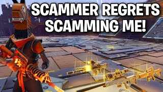 He scammed me 😤 but then I did this! 😱🤣 (Scammer Get Scammed) Fortnite Save The World