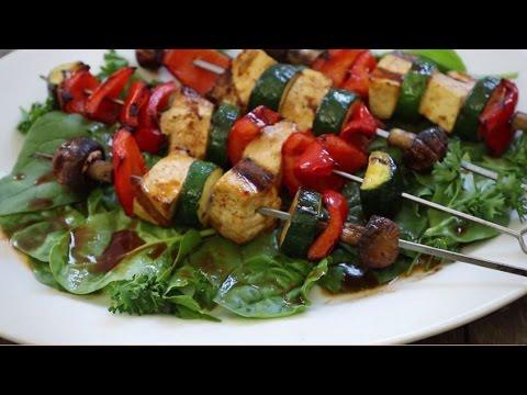 Tofu Skewers with Sriracha Sauce   Grilling Recipes   Allrecipes.com