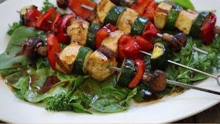 Tofu Skewers with Sriracha Sauce | Grilling Recipes | Allrecipes.com