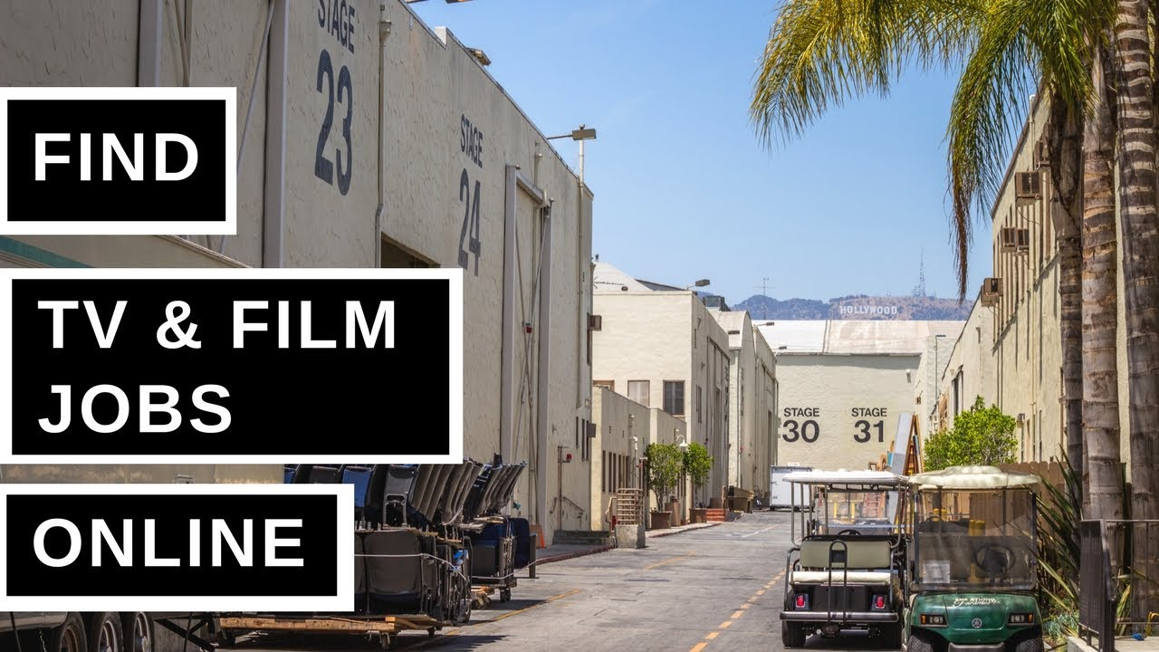 Where to Find Jobs in Film & Television