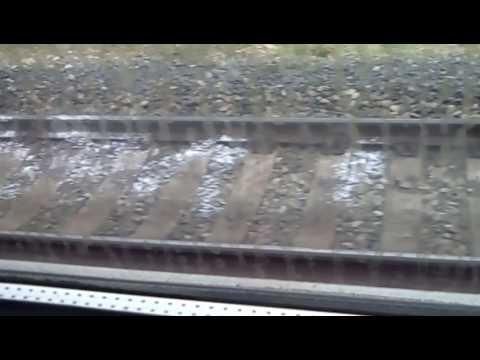 видео поезд сбил беременную
