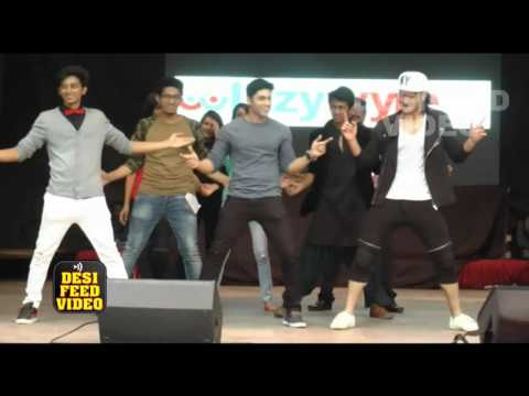Ruslaan Mumtaz at the Annual Function of BHAVAN COLLEGE - Uncut Event