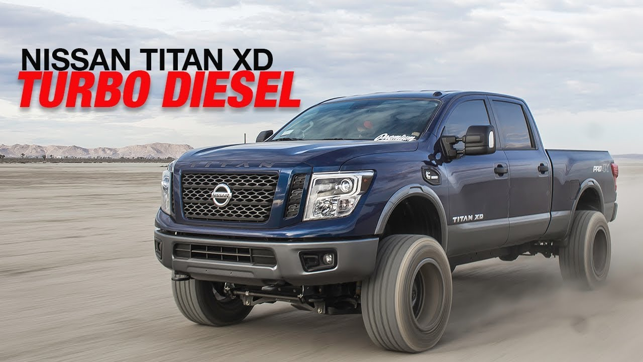 Lifted Nissan Titan >> Our New Shop Truck Lifted 2017 Nissan Titan Xd Desert Trip