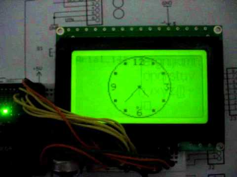 26 Gauge Wire >> arduino mega kit with 128x64 lcd - YouTube