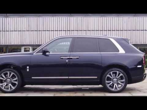 Introducing the Rolls Royce Cullinan