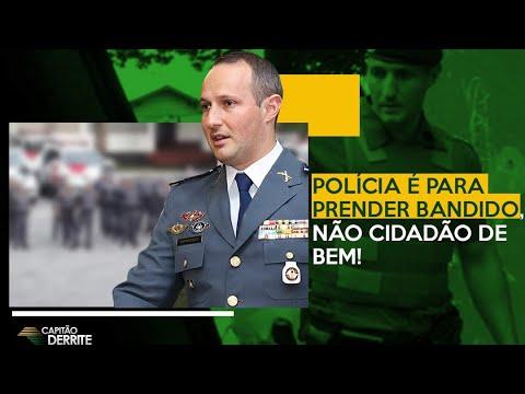 Polícia é pra prender bandido, não cidadão de bem!