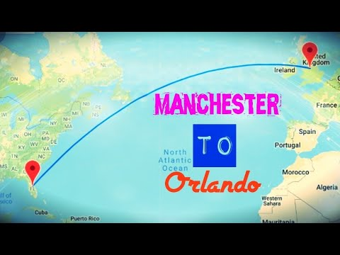 Florida from Manchester Airport with Thomas Cook 25.09.17
