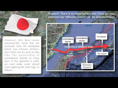 5 Reasons Why the Senkaku (Diaoyu) Islands are NOT Chinese Territory