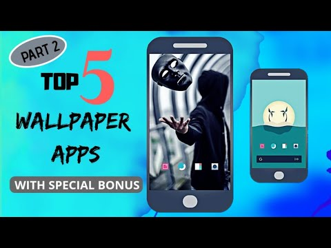 Top 5 Best  Wallpaper Apps 2018 For Android Part 2 In Hindi 🇮🇳 #wallpapers