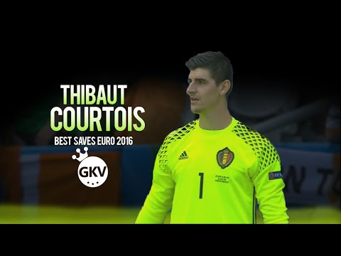 Thibaut Courtois ●  Best Saves ●  Euro 2016 ●  HD