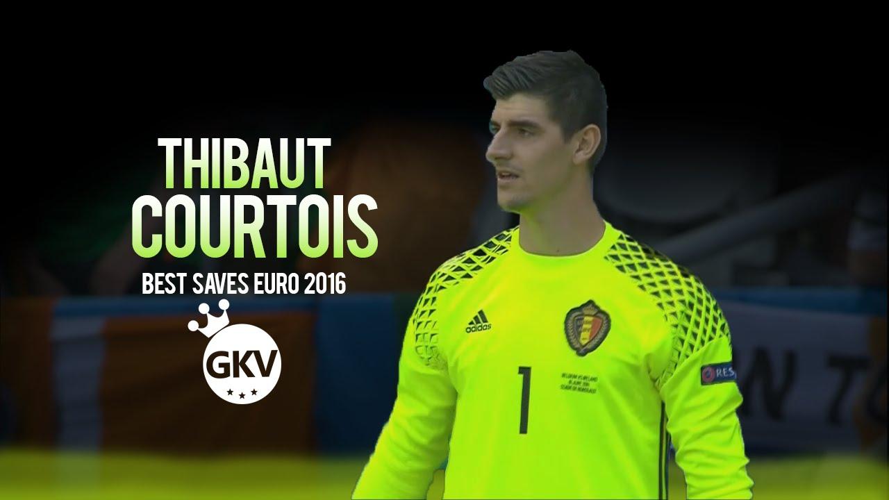 Thibaut Courtois ○ Best Saves ○ Euro 2016 ○ HD