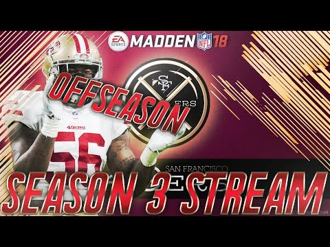 San Francisco 49ers Franchise Full Offseason, Free Agency, and Draft + Superstar Gems!