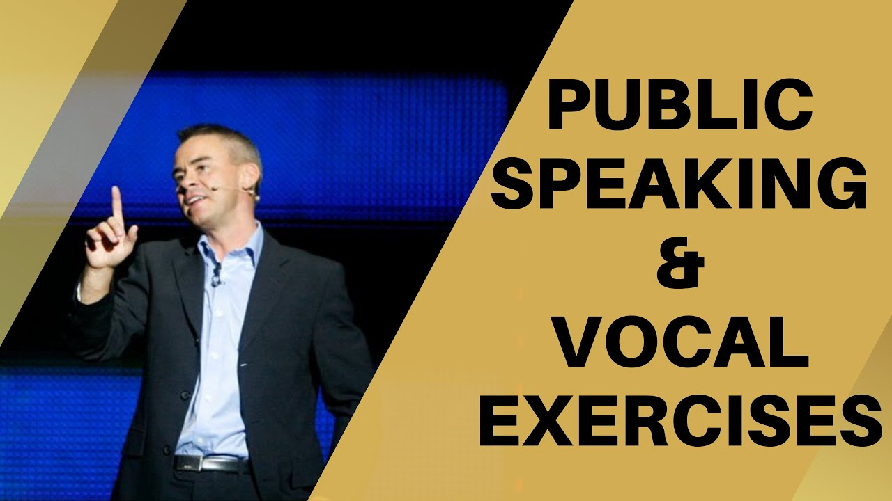 public speaking tutorials