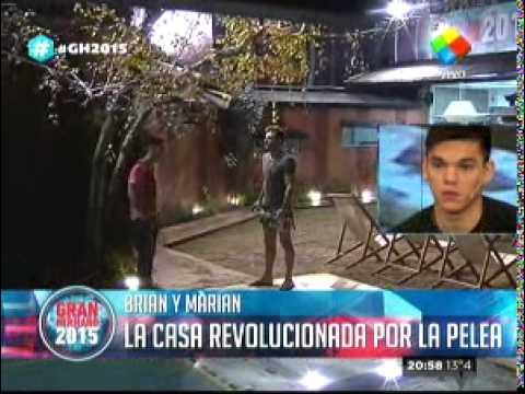 """""""Gran Hermano 2015"""": Imágenes inéditas del escándalo protagonizado por Brian"""