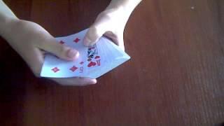 """Видео урок №2 фокус с карт и ево обучение """"21 карта"""""""