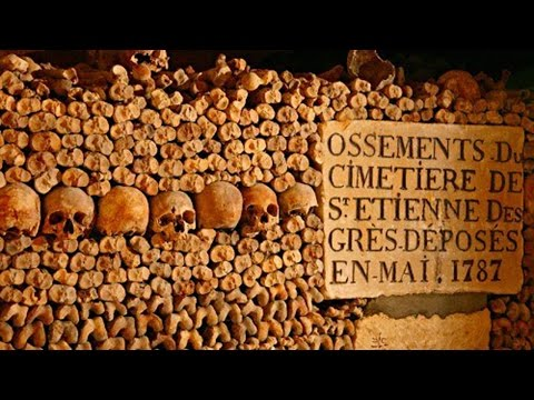CATACOMBES - Catacombs of Paris -  Bones of 6-7 Million Dead People