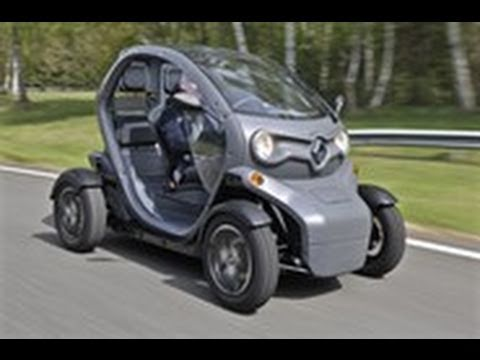 Renault Twizy Electric Car Video Review Youtube