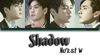 NU'EST W: Shadow (Han/Rom/Eng Color Coded Lyrics)