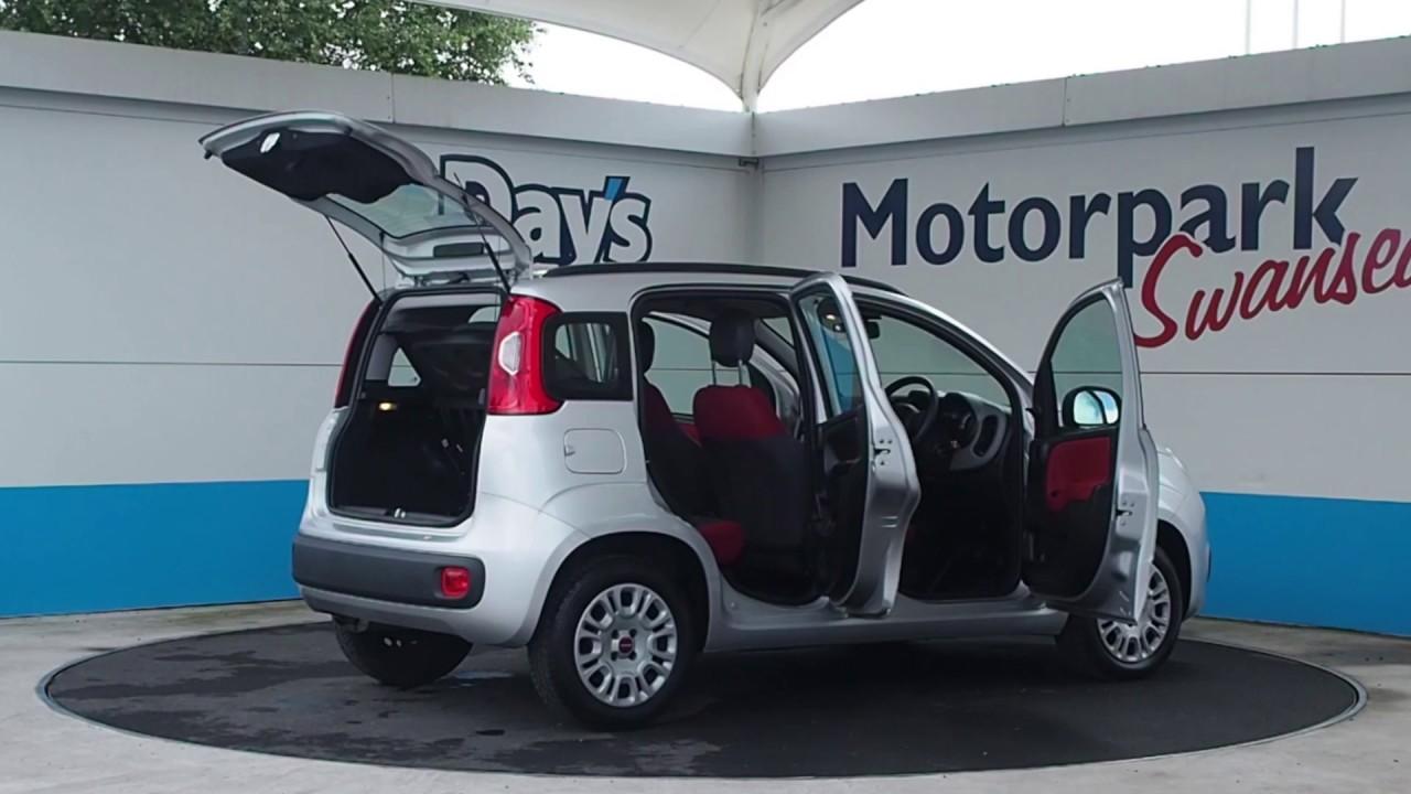 14 reg fiat panda hatchback 1.2 easy 5dr - youtube