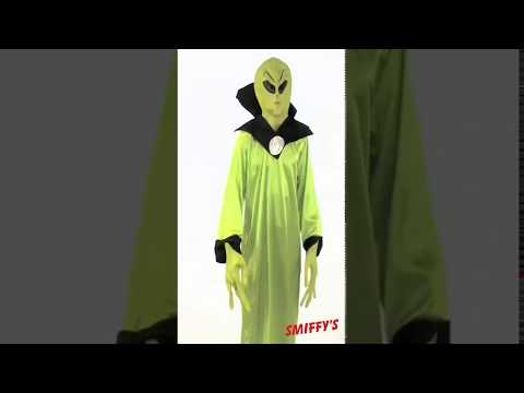 22006 Alien Lord Costume Video