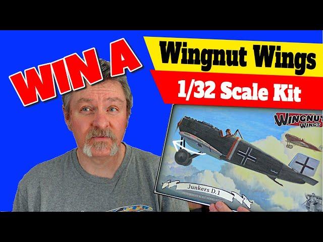 Win an increasingly RARE Wingnut Wings Kit