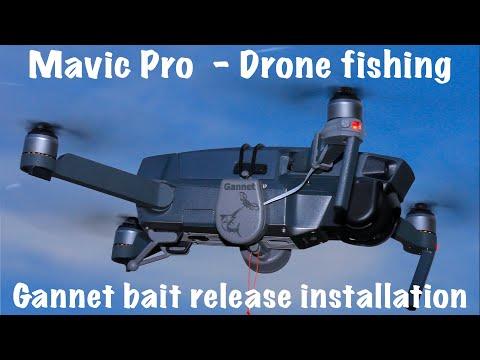 Drone fishing - Mavic Pro setup