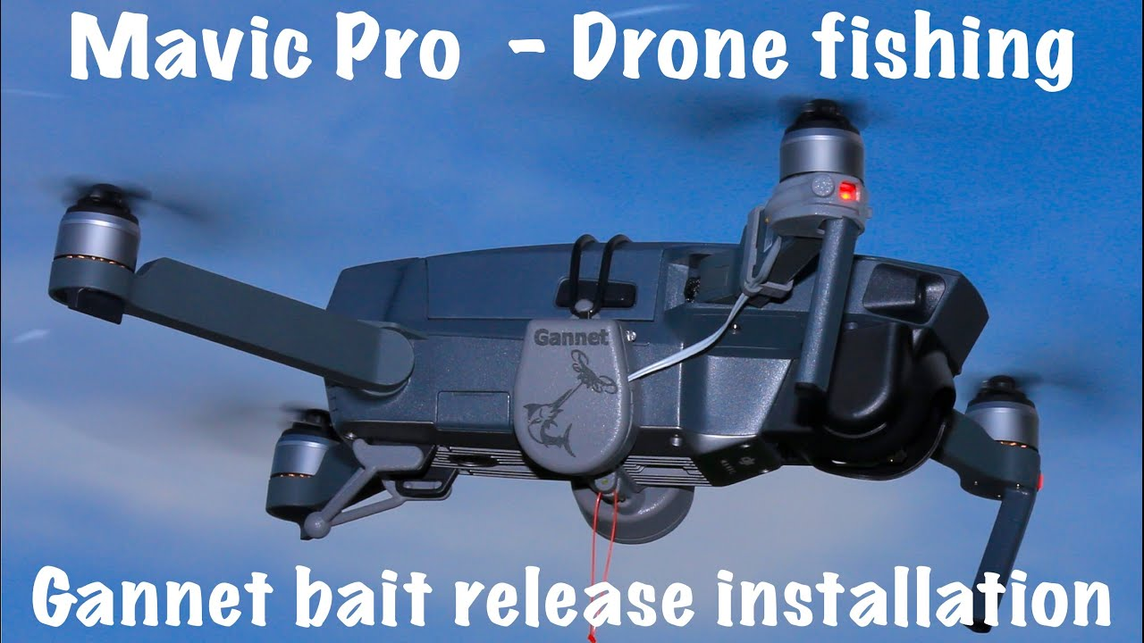 Drone fishing mavic pro setup youtube for Drone fishing line release