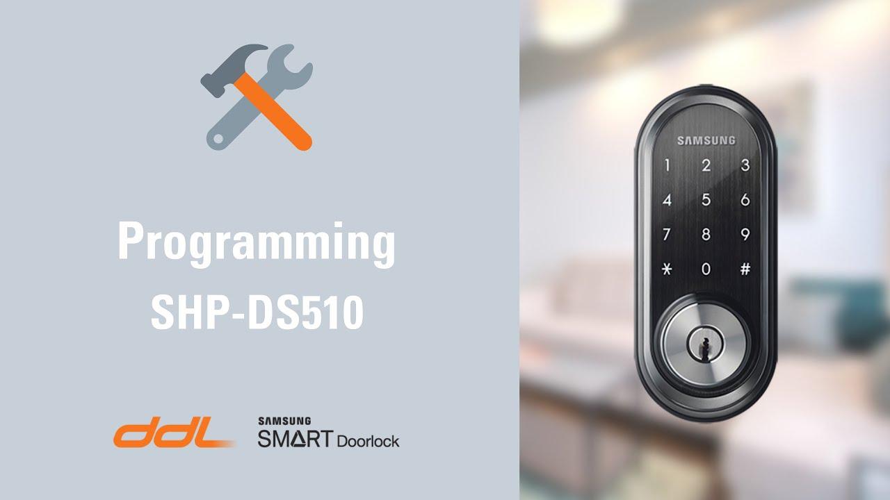 Samsung SHP-DS510 Installation & Programming Video
