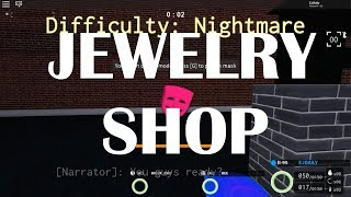 Notoriety Roblox | Jewelry Shop | Solo Stealth
