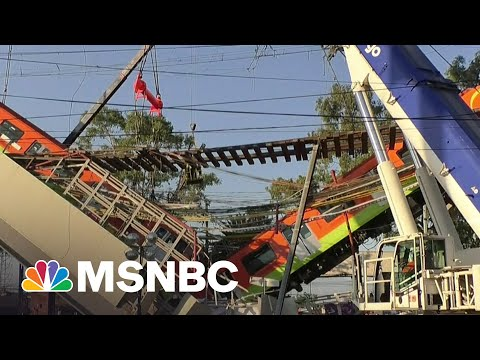 At Least 23 Dead After Subway Overpass Collapses in Mexico City | Stephanie Ruhle | MSNBC