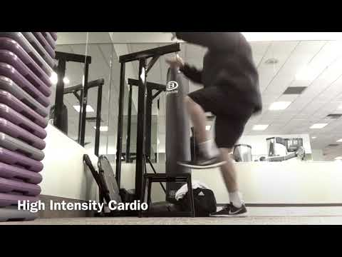 Weight Loss Journey 2017 | High Intensity Cardio Workout |