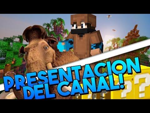 PRESENTACION DEL CANAL!!  CubecraftGames - Lucky Island