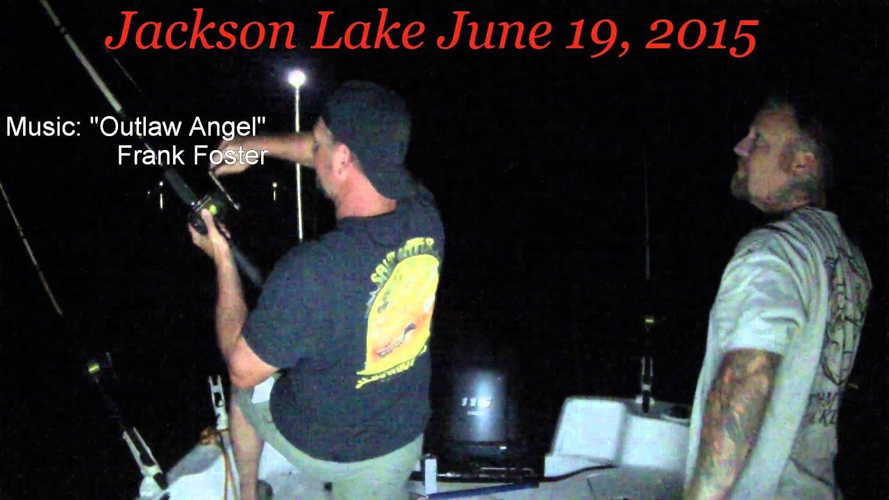 Jackson lake catfishing youtube for Jackson lake fishing report