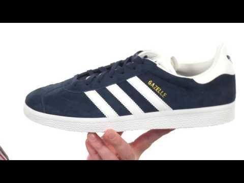 sports shoes d12bf 5799a adidas Originals Gazelle Sport Pack SKU 8809211 - YouTube