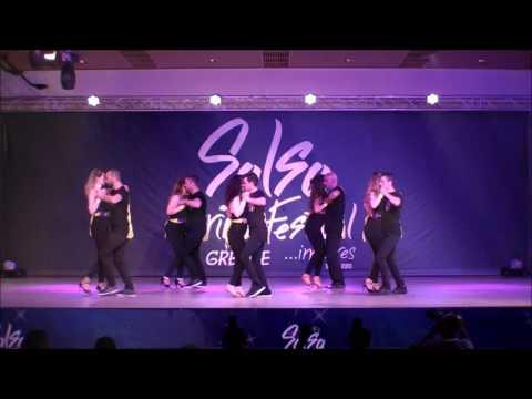 Kizomba Project by Konstantinos & Eva, La Secta DC@8th Salsa Spring Festival 2017, Greece