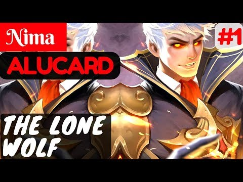 The Lone Wolf [Rank 4 Alucard]   Nima Alucard Gameplay and Build #1 Mobile Legends