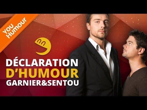 GARNIER & SENTOU - Déclaration d'Humour