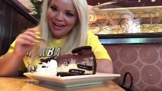 MY FAVORITE ULTIMATE CHEESECAKE FACTORY MEAL + DESSERT!
