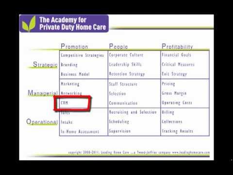 Twenty Seven Elements of a Successful Private Duty Home Care Company