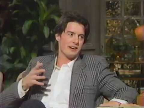 Kyle MacLachlan  pre Twin Peaks right after Blue Velvet