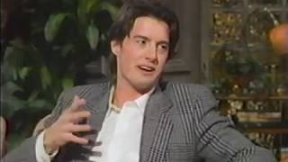 Kyle MacLachlan interview pre Twin Peaks right after Blue Velvet