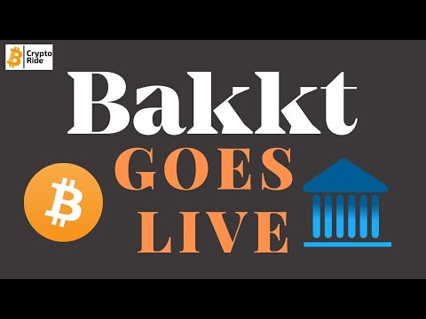 Bakkt Launch-  What comes next for Bitcoin and crypto?
