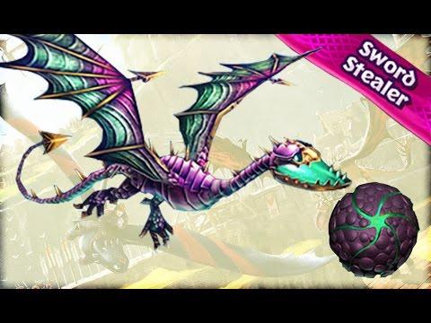 Dragons: Rise of Berk - SWORD STEALER - Limited EXOTIC! - Max Level - Event 3d