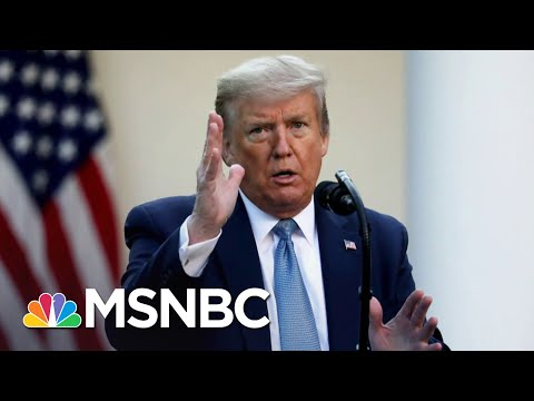 Rosy Outlook From Trump On Coronavirus Pandemic's Deadliest Day In U.S. | The 11th Hour | MSNBC