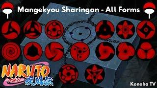 Mangekyō Sharingan - All Forms and Jutsu (Update: Fugaku Uchiha)